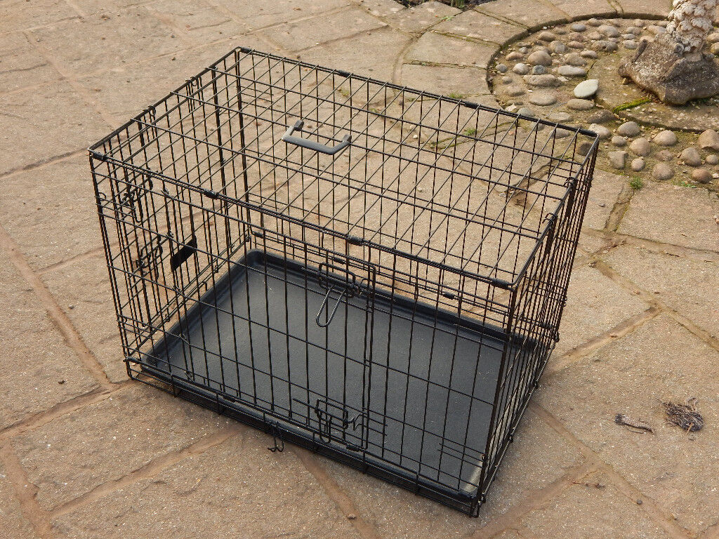 Pet travel kennel or house crate, collapsible