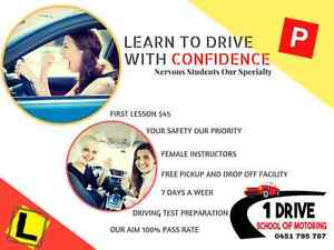 1Drive School of Motoring Sydney | Female driving instructor | East Hills Bankstown Area Preview