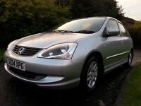 ★ SAME FAMILY SINCE NEW ★ AUTO WITH 96,000 MLS ★ 2004 Honda Civic 1.6 SE ★ LONG MOT ★ EXC CONDITION