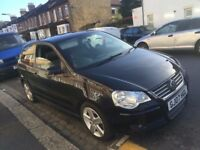 VW VOLKSWAGEN POLO 1.6 SPORT 2007 1 FORMER OWNER NEW MOT NEW BRAKE DISC & PAD HEATED SEAT SUNROOF