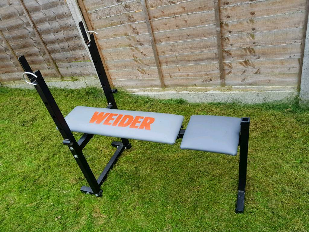 Weights training foldable bench in Milton Keynes