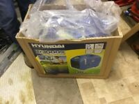 Hyundai generator 3000si new in box never been used