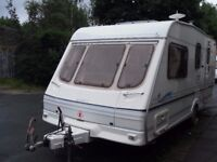 Swift Lifestyle Four Berth Touring Caravan