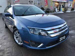 2010 Ford Fusion SEL 2.5L w/Power Sunroof_Leather