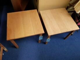 Two Wooden Coffee Tables