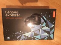 NEW Lenovo Explorer Mixed Reality Headset + Controllers