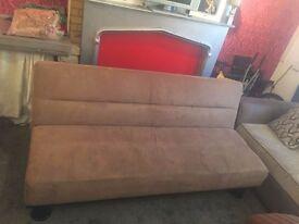 Seude sofa bed