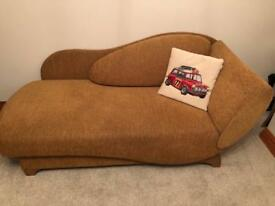Single bed/chaise longue