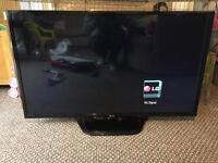 Lg 42inch full hd tv and sound bar