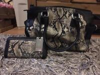 Harrods bag & purse