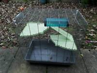 Amster guinea pig cage