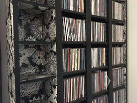 4 X DVD/CD shelves