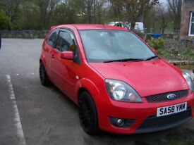 Ford Fiesta Zetec S Red 3 Door Hatchback Petrol