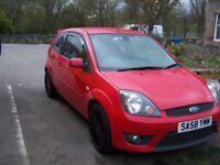 Ford Fiesta Zetec S Red 3 Door Hatchback Petrol