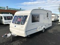 2001 BAILEY RANGER *FIXED BED* 4 BERTH SINGLE AXLE LIGHTWEIGHT TOURING CARAVAN