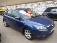 Ford FOCUS Zetec 100,5 dr hatchback,FSH,full MOT,nice clean tidy car,runs and drives as new,good mpg