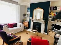 Airy double room in spacious stylish flat very close to East Dulwich Station & Lordship Lane - 6mo.