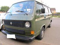 Vw T25 Westfalia Campervan. 1.6 diesel 1981