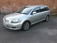2007 57 TOYOTA AVENSIS TR DIESEL D-4D 1 COMPANY OWNER