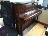 A Nice Old Upright Piano by R. Gors & Kallmann (Made in Berlin) Beautiful Original Ivory Keys ...