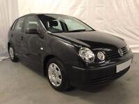 2005 Volkswagen Polo 1.2 E 55 5dr *** FULL YEARS MOT ***