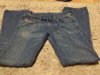 Diesel Jeans size 27 Blue Jeans Italian