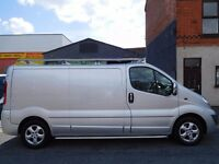 Finance avaiable from only £6.07 a day & NO VAT! Vauxhall Vivaro LWB Sport 60 plate MOT'd (10)