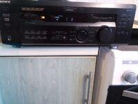 Sony amp 100w black