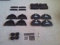 Thule Fitting Kit 3015 and Footpack 753