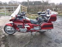 Candy Red Goldwing GL 1500 Gold Wing