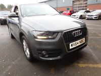 AUDI Q3 2.0 TDI [177] SE [Bluetooth, Parking Sensors] 5dr (grey) 2014