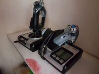 Saitek X52 Flight Control System (Joystick & throttle; HOTAS)
