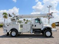 2004 International 7400 4X4 CAB AND CHASSIS -