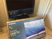 "Samsung 49"" curved screen 4k uhd smart led tv ue49ku6670"