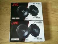 JVC Car speakers (1200 watt total)
