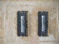 Computer memory 4GB 1Rx16 PCL3L (pair of 2GB RAM Modules)