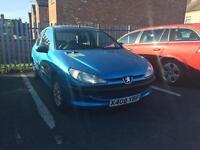 Peugeot 206 1.1 litre low miles 69k!!!