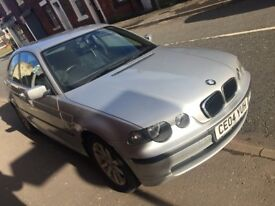 bmw 3 series 1.8 long mot only done 107000