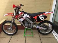 Honda cr125 cr 125 Mx motocross Yz kx rm yzf kxf rmz crf ktm 450 250