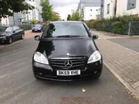 Mercedes Benz A160 Eco Drive 2009 Mileage only 60k Black Tinted Windows IMmaculate Condition