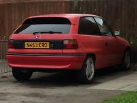 MK3 ASTRA GSI REP TURBO CONVERSION spares or repair, unfinished project