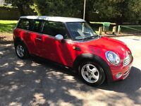 MINI Clubman 1.6 TD Cooper D Estate 2008 in Red