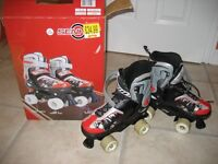 Adjustable Quad Skates (size 37-40) unisex.