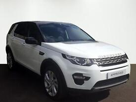 Land Rover Discovery Sport TD4 SE TECH (white) 2017-03-29
