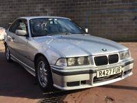 E36 BMW 323i Manual Coupe Titan silver '98 £1200 Bolton
