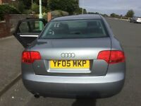 Audi A4 semi -auto, 12 months MOT wit no adversary. Pulls like a train. Air condition, good tyres.