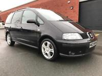MARCH 2007 SEAT ALHAMBRA STYLANCE TDI FULL SERVICE HISTORY ONE OWNER ###7SEATER###