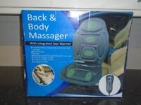 brand new in box back and body massager for car or home