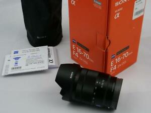 Sony E 16-70mm ZA OSS Carl Zeiss lens MINT in box