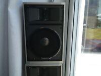 Technics speakers x 4 c1983